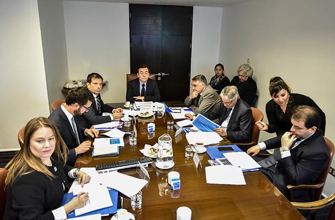 El Ministro de Economía, Fomento y Turismo, Luis Felipe Céspedes, preside el Comité de Ministros para el Fomento y Promoción de la Inversión Extranjera.