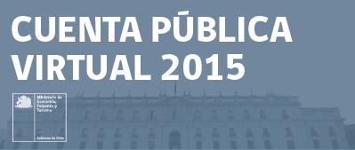 CUENTA PÚBLICA VIRTUAL 2015
