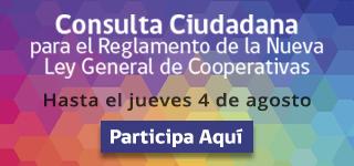 Consulta Ciudadana Ley de Cooperativas