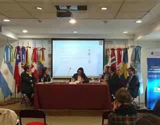 Subsecretaria de Economía encabezando delegación chilena en Buenos Aires