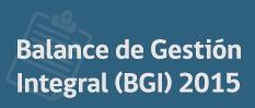 Balance de gestion integral bgi 2015