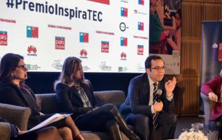 """El Ministro de Economía, Fomento y Turismo, Luis Felipe Céspedes participa en el panel: """"Desafíos para la igualdad de género en el ambiente digital"""". En la oportunidad se lanzará el Premio Inspiratec, que busca reconocer la participación de jóvenes y emprendedores en el sector tecnológico."""