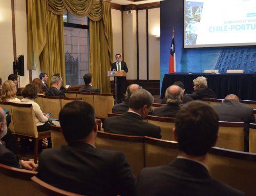 Ministro Céspedes destaca oportunidades económicas entre Portugal y Chile