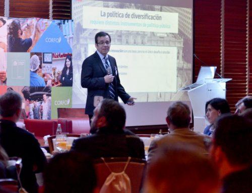 Titular de Economía destaca diversificación productiva de Chile en Seminario CORFO-OCDE
