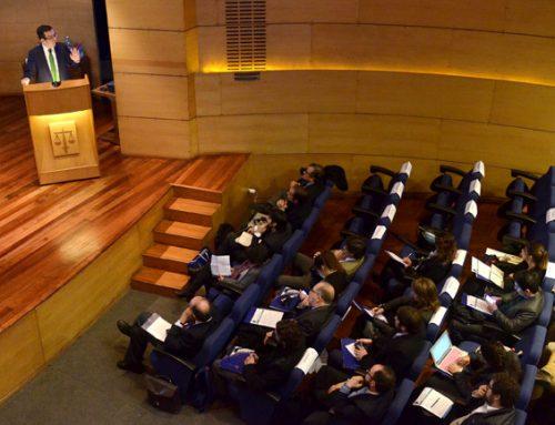 Ministro Céspedes destaca importancia de la libre competencia