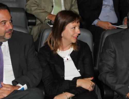 Ministra(s) de Economía Natalia Piergentili asiste a presentación de Estudio Económico de Chile de la OCDE