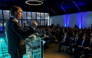 El Ministro de Economía, Fomento y Turismo, José Ramón Valente, participa en el 22 Encuentro Empresarial: Inspira, organizado por la Cámara Regional del Comercio de Valparaíso Fotos: Oscar Ordenes - Ministerio de Economía