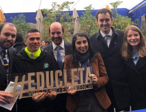 Subsecretario de Economía e Intendenta se reúnen con pequeños emprendedores de Santiago