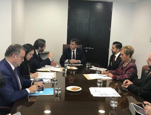 Delegación de Guatemala se reúne con Ministro Valente para preparar el XII Encuentro Empresarial Iberoamericano