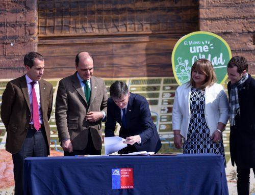 Ministro Valente participa en la firma de convenio de colaboración para la Regeneración de Barrios Históricos
