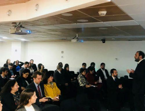 """Subsecretario de Economía da la bienvenida al Seminario de """"Análisis a la Encuesta de Innovación"""""""
