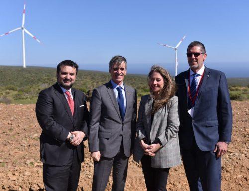 Ministros Valente y Jiménez inauguran parque eólico en Ovalle que significó inversión de US$140 millones