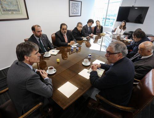 Dirigentes de la Conupia se reúnen con Ministro Valente por Ley Pago a 30 Días
