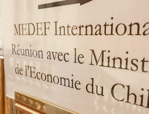30 empresas francesas se reúnen con Ministro Valente para potenciar inversiones en Chile