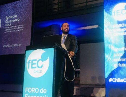 Subsecretario de Economía participa del encuentro más importante de Latinoamérica para impulsar la economía circular en la región