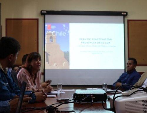 Ministerio de Economía anuncia plan por más de $558 millones para la reactivación económica de la Provincia de El Loa