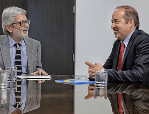 Ministro Fontaine se reúne con el Director del Departamento Económico de la OCDE