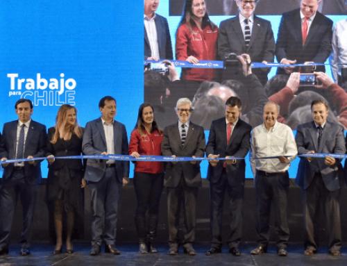 Ministro Fontaine encabeza inauguración del centro de distribución 'El Peñón' de Walmart