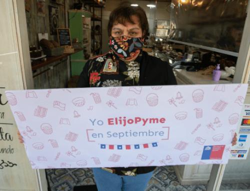 """Ministro Lucas Palacios lanza campaña """"Yo ElijoPyme en Septiembre"""" e invita a inscribirse en sitio de ventas en línea para emprendedores"""