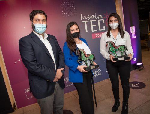 """Subsecretario Julio Pertuzé encabeza cuarta edición de premio InspiraTEC: """"Reconocer el talento de nuestras emprendedoras es crucial para ganar espacios para las mujeres en ciencia y tecnología"""""""