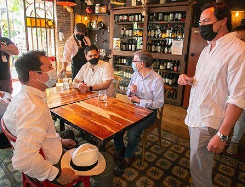 Ministro Lucas Palacios da el vamos a apertura al interior de restaurantes para comunas en Paso 3